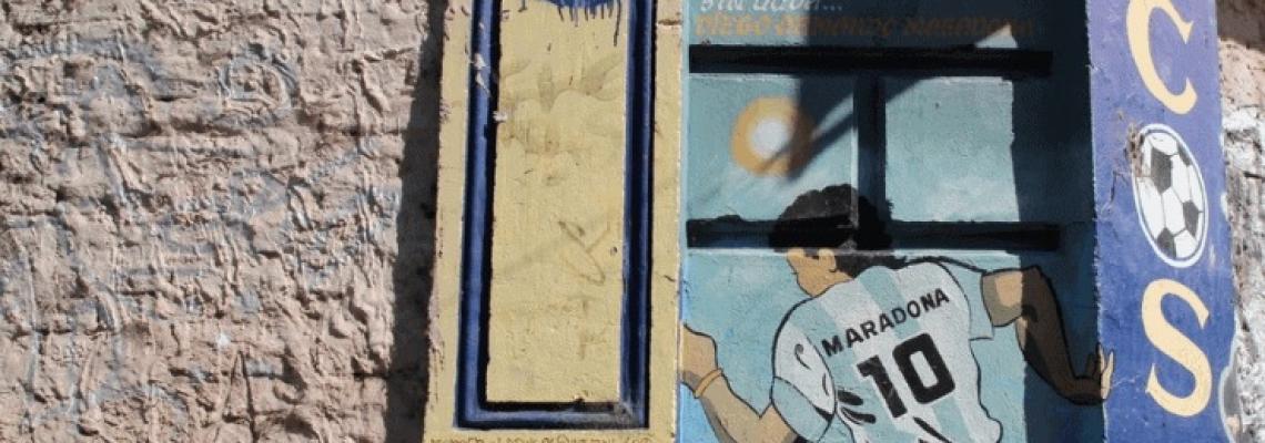 """""""La huelga di Di Stefano"""", tratto dal libro Tango Calcistico."""