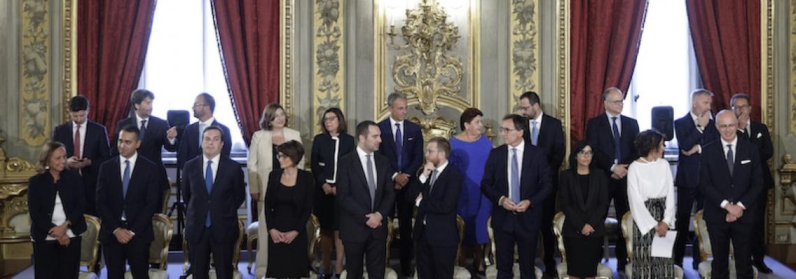 Vincenzo Spadafora. La danza del potere e il ministero dello sport.