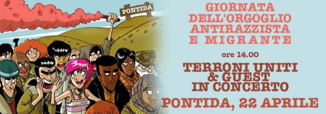 Festival dell'Orgoglio Antirazzista e Migrante - a Pontida sabato 22 aprile